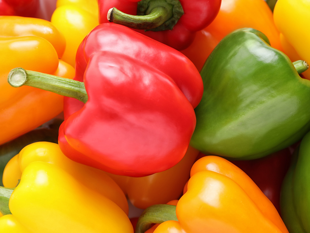 Pepper, vitamins and color!