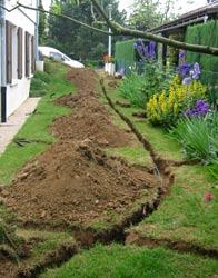 Arrosage enterr avant de creuser - Systeme arrosage automatique fait maison ...