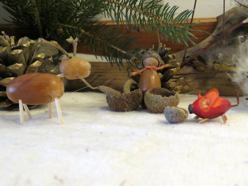 Herbst-Buschspielzeug