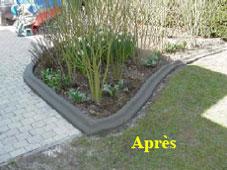 La bordure de jardin moul e - Bordures de jardin pas cher ...