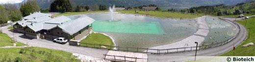 La piscine naturelle for Combloux piscine