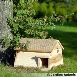 des abris pour les amis du jardinier. Black Bedroom Furniture Sets. Home Design Ideas