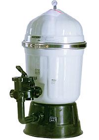 Diatom filter